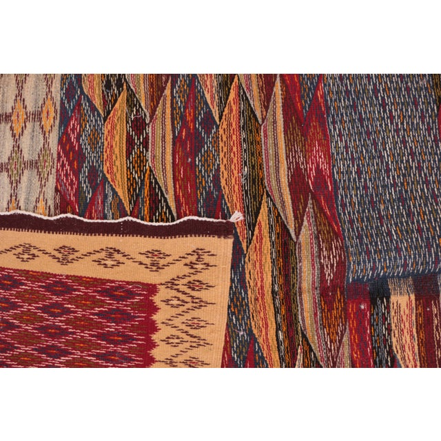 """Aknif Moroccan Rug - 3'7"""" x 5'5"""" For Sale - Image 4 of 4"""