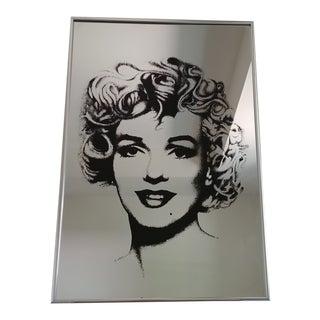 Vintage Marilyn Monroe Mirror Wall Art For Sale