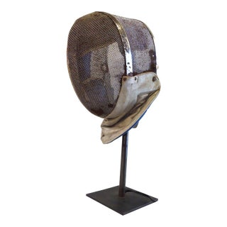Fencing Mask Table Lamp For Sale