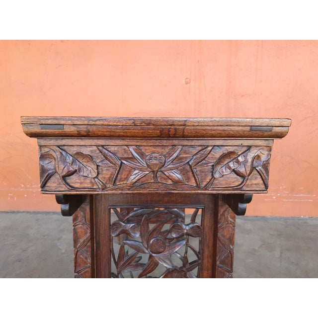 Chinese Carved Altar Table For Sale In Portland, OR - Image 6 of 10