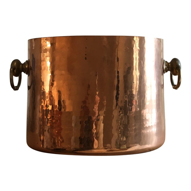 Copper Ice Bucket With Slots for 2 Bottles - Image 1 of 6