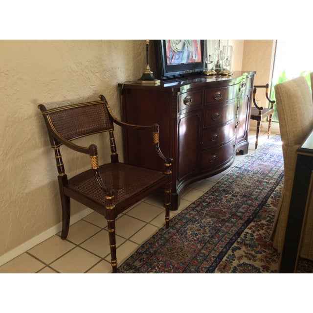 Vintage Baker Regency Accent Chairs - A Pair - Image 7 of 7
