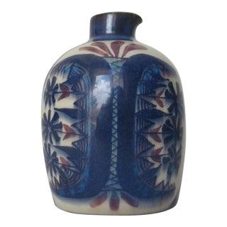 C.1930s-60's Royal Copenhagen Glazed Ceramic Vessel by Morgen Jorgensen For Sale
