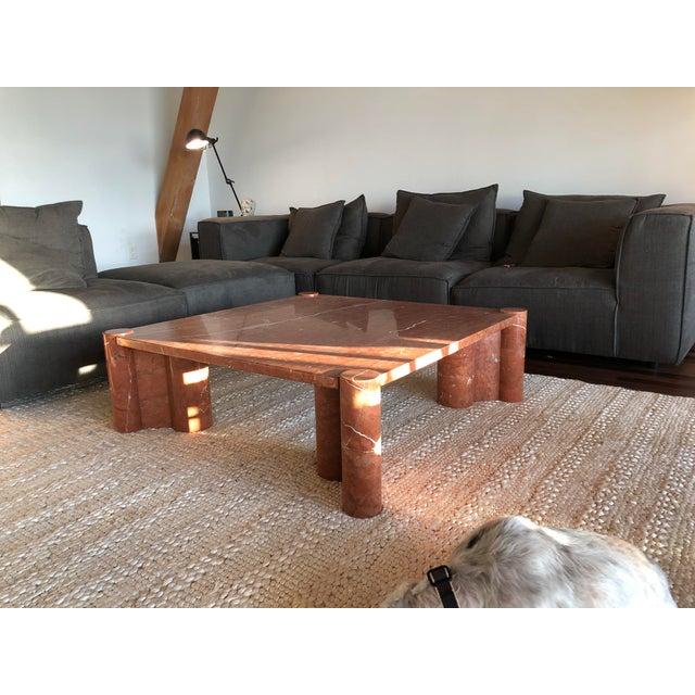 Gae Aulenti Brutalist Gae Aulenti for Knoll Jumbo Table For Sale - Image 4 of 7