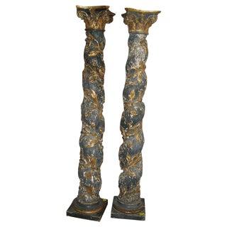 17th Century Columns - a Pair For Sale