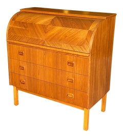 Image of Mid-Century Modern Rolltop Desks