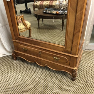 19th Century Antique French Louis XV Single Door Armoire Preview