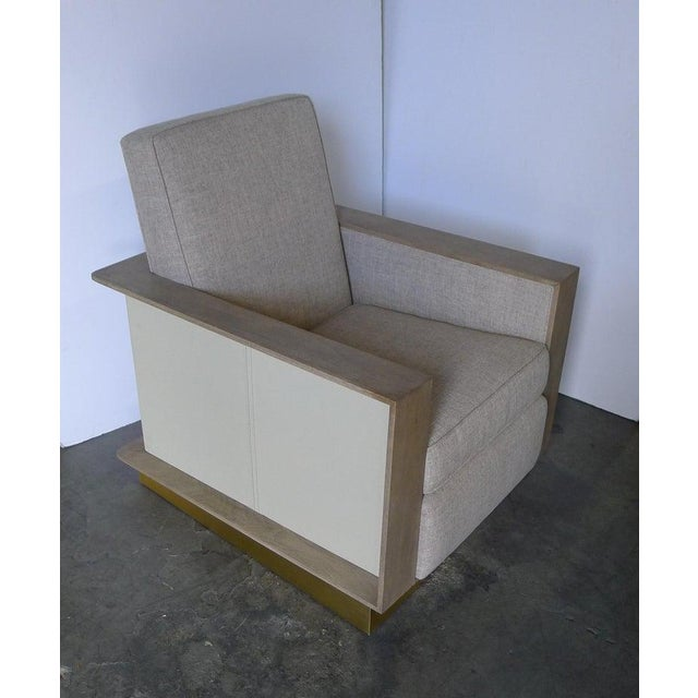 Not Yet Made - Made To Order Max Modern Club Chair by Paul Marra For Sale - Image 5 of 12