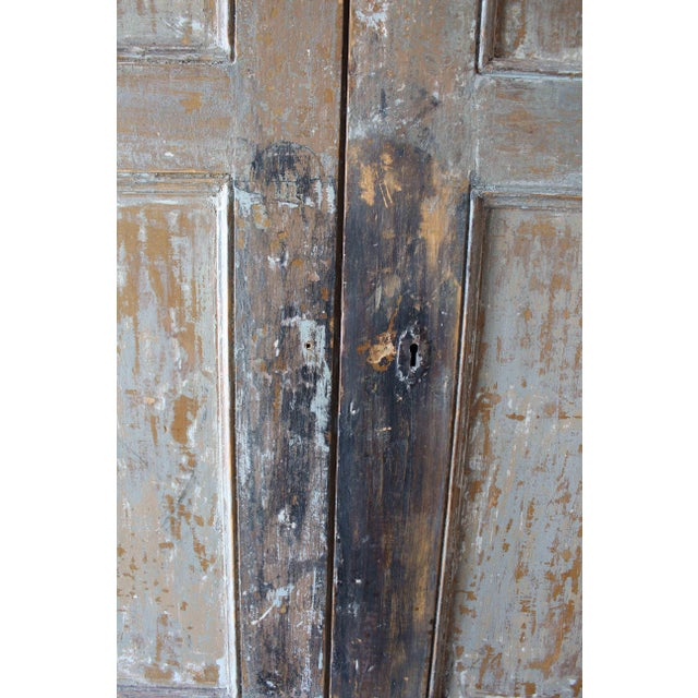 Tan Antique French Armoire For Sale - Image 8 of 10