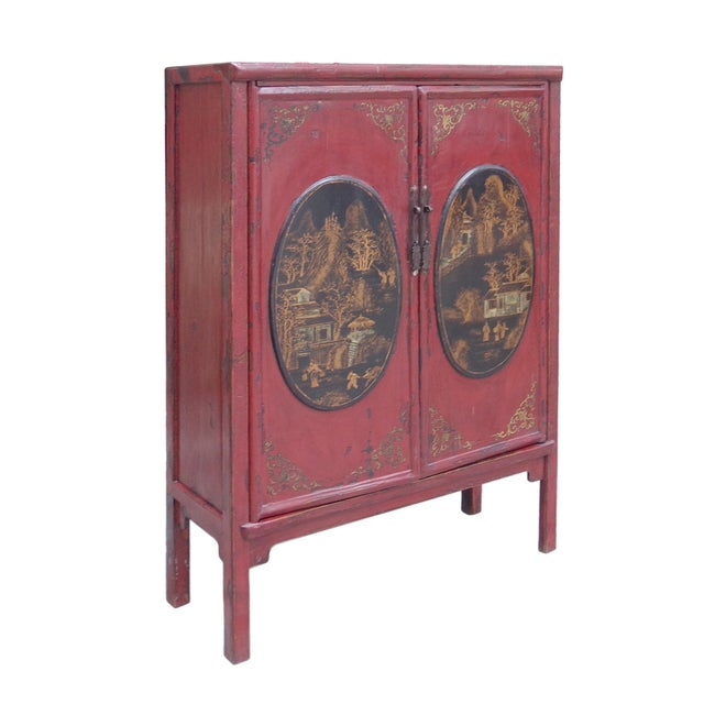 Medicine Herbs Cabinet with Small Drawers - Image 3 of 6