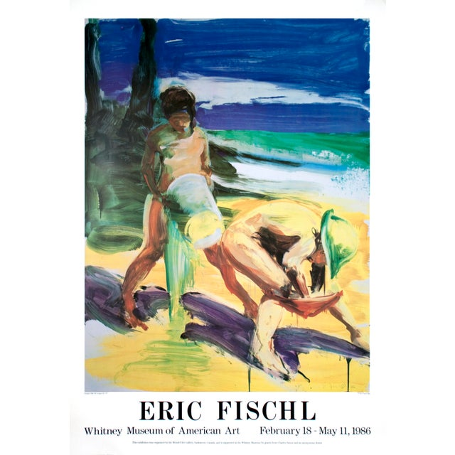 Artist: Eric Fischl Title: Untitled Year: 1986 Signed: No Medium: Offset Lithograph Paper Size: 49.5 x 35 inches ( 125.73...