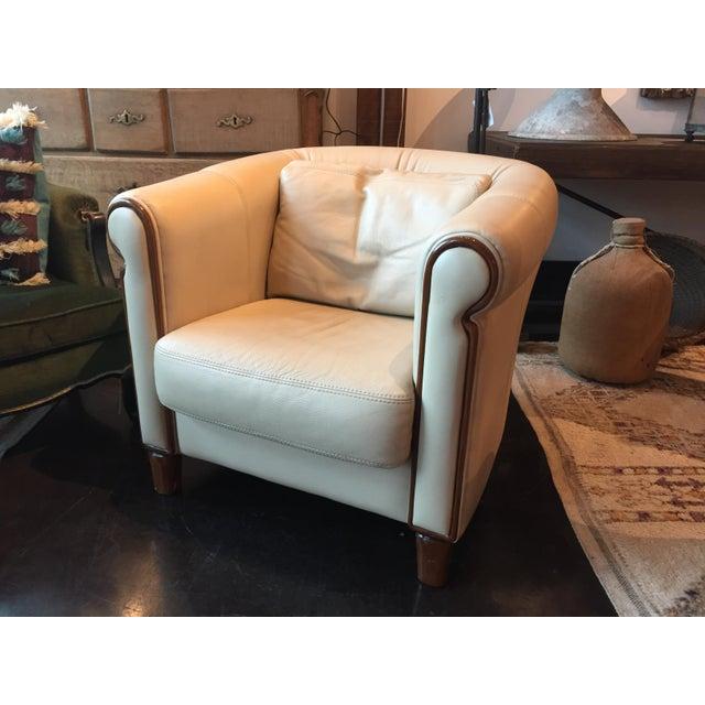 Fabulous Italian art deco style club chair, very comfortable and stylish piece