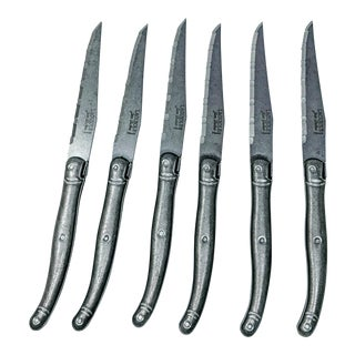 Handmade Laguiole Knives - Set of 6 For Sale