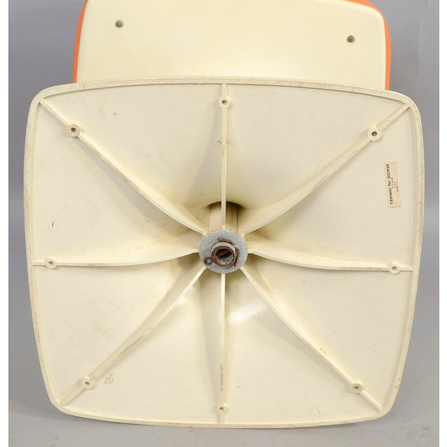 1970s Tulip Based Stool Vanity Seat For Sale - Image 5 of 6