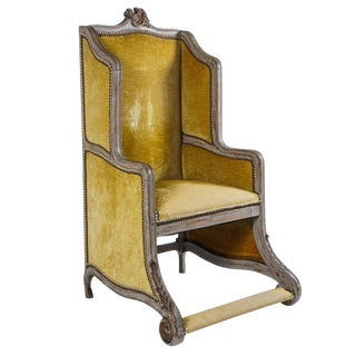 Louis XV Style Chaise De Chausseur, France, Circa 1890 For Sale