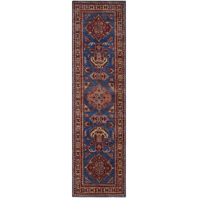 Slyvia Hand-Knotted Wool Rug - 2′7″ × 6′4″ For Sale