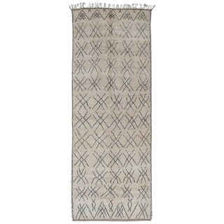 """Tic-Tac-Toe,"" Moroccan Berber Rug For Sale"