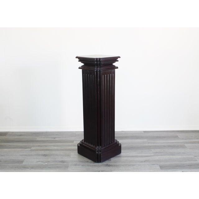 Mid-Century Modern Mid Century Pedestal Base For Sale - Image 3 of 6
