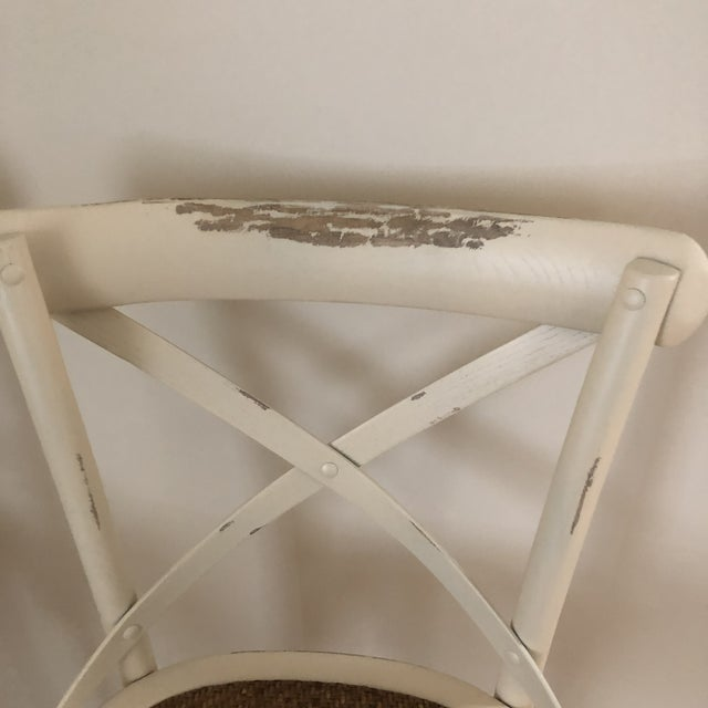 French French Style Cadence Counter Stools - a Pair For Sale - Image 3 of 8