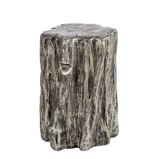 Statements By J Silver Low Log Stool