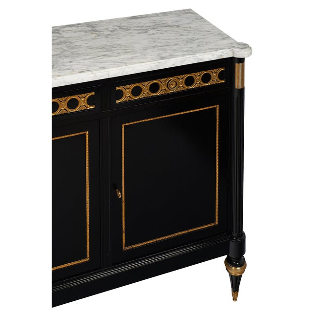 1920s French Antique Louis XVI Buffet For Sale - Image 5 of 10
