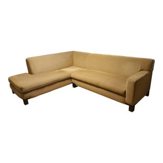 Large Modern Transitional Sectional Sofa or Chaise