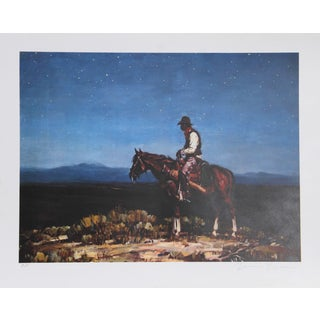 Duane Bryers, Lonesome Train Whistle, Lithograph For Sale