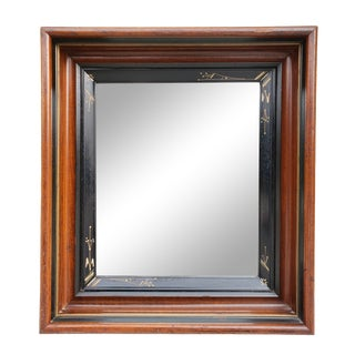 Eastlake Aesthetic Ebonised Mirror For Sale