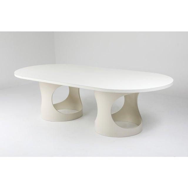 Arne Jacobsen Pre Pop Dining Table for Asko - 1969 For Sale - Image 10 of 12