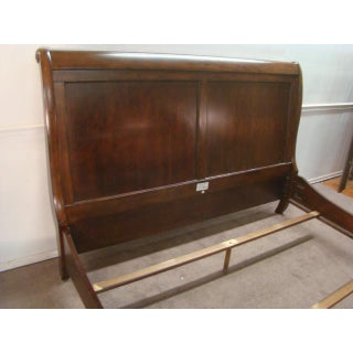 Traditional Stanley Cherry King Size Sleigh Bed Preview