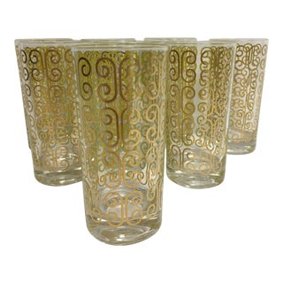 Fred Press Mid-Century Highball Tumblers - Set of 8