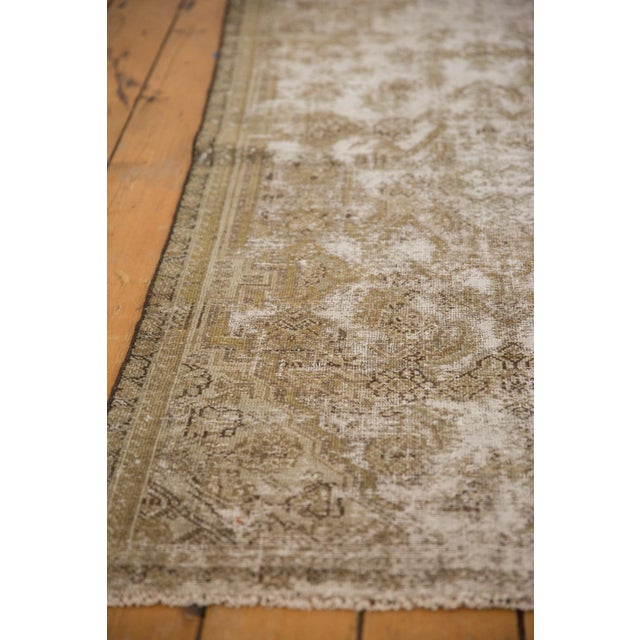 "Vintage Distressed Fragment Malayer Rug - 3'1"" X 5'1"" For Sale - Image 10 of 11"