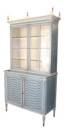 Image of Blue China and Display Cabinets