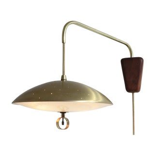 Mid Century Swing-Arm Wall Lamp