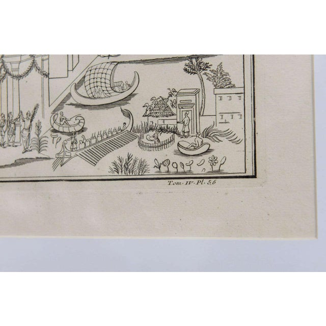 Plate of the Temple of Fortune Primigenia - Image 9 of 11