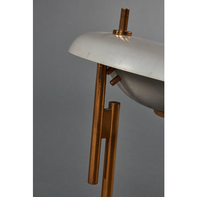 1950s Adjustable Oscar Torlasco Table Lamp for Lumi For Sale - Image 5 of 11
