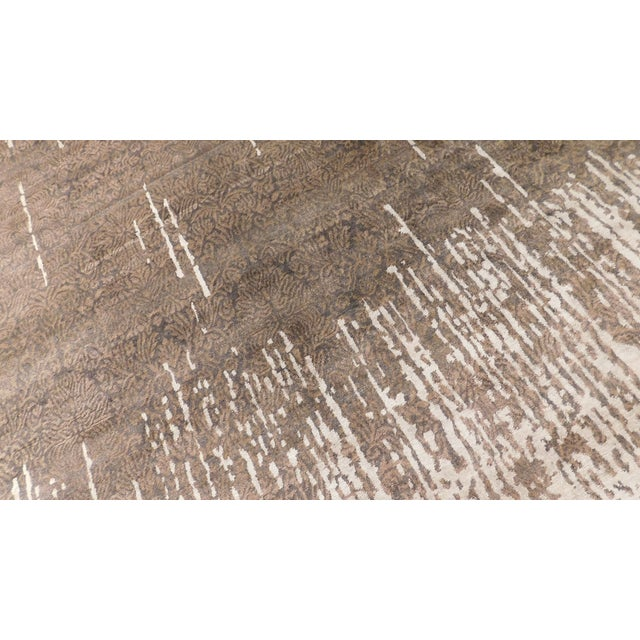 """2010s Contemporary Hand-Knotted Luxury Rug - 8' x 10'2"""" For Sale - Image 5 of 10"""