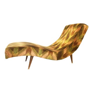 Adrian Pearsall Style Mid-Century Modern Chaise Lounge