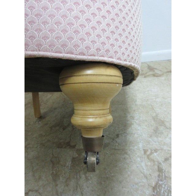 Ethan Allen Chesterfield Lounge Chair - Image 7 of 10