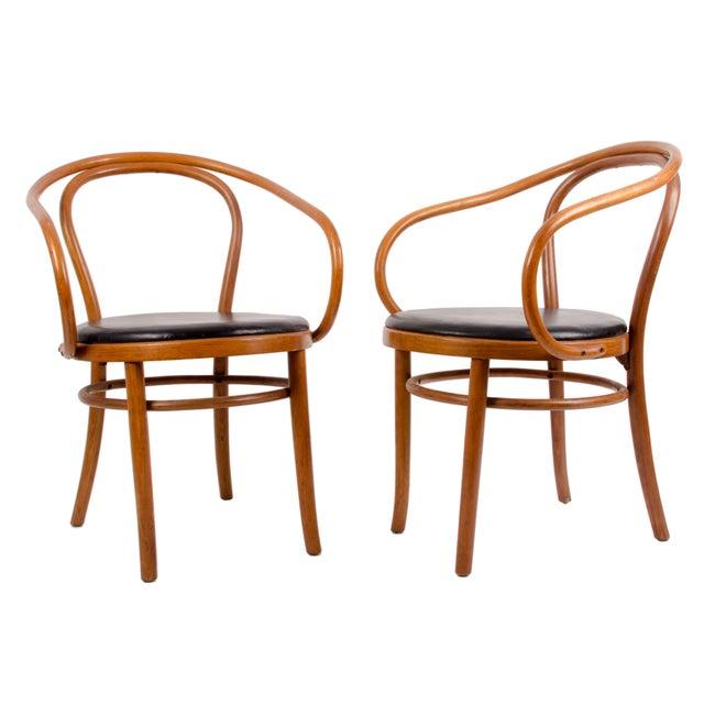 thonet bentwood chairs set of 4 chairish
