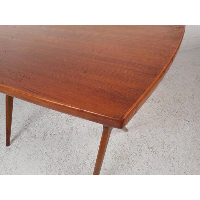Mid-Century Modern Teak End Table - Image 9 of 11
