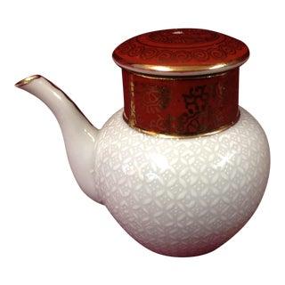 Vintage Kutani Miniature Soy Sauce Pot For Sale