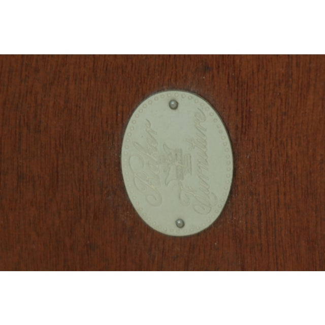 Baker Irish Georgian Style Mahogany Console Table For Sale - Image 10 of 13