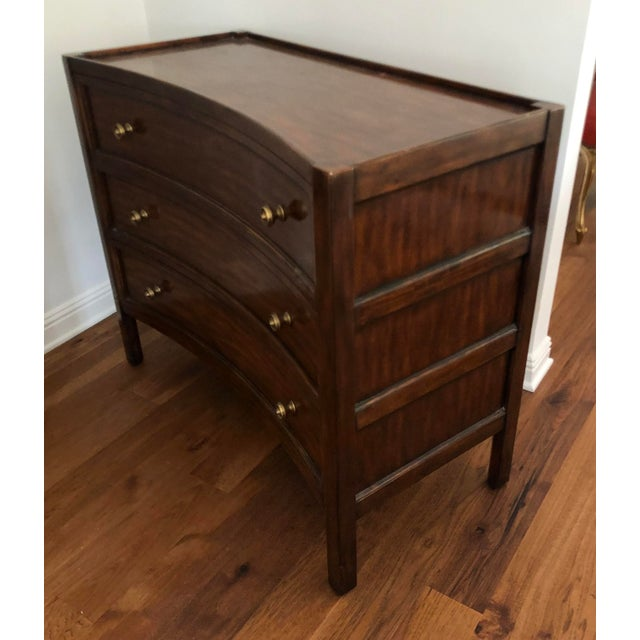 Art Deco Directoire Style Art Deco Mahogany Commode Chest of Drawers For Sale - Image 3 of 4