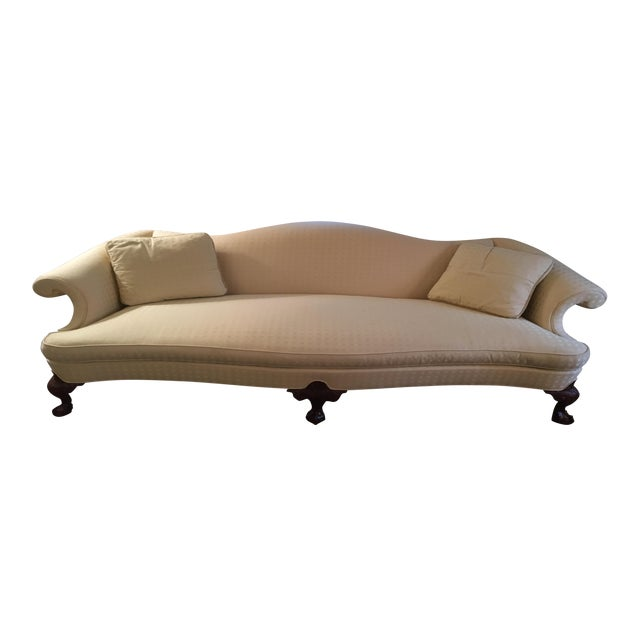 Hickory Chair Chippendale Sofa - Image 1 of 6