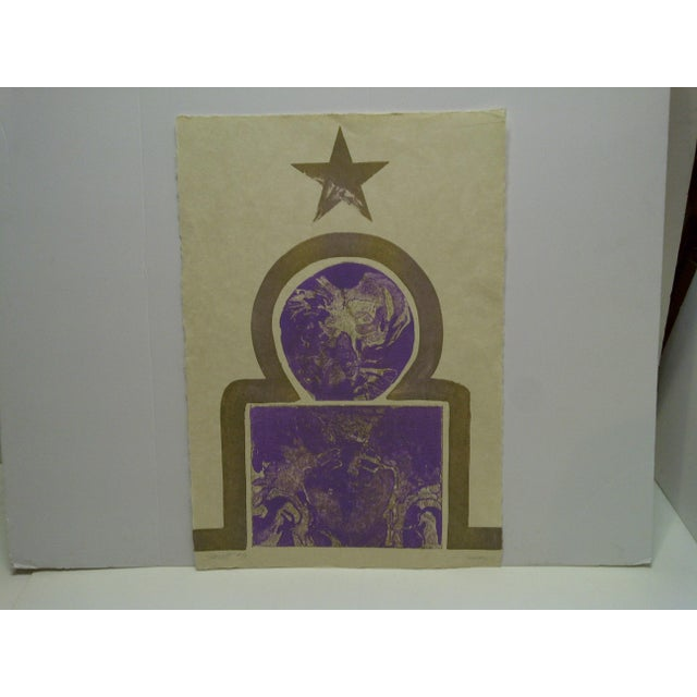"1968 ""Starlett"" Signed Print For Sale In Pittsburgh - Image 6 of 6"