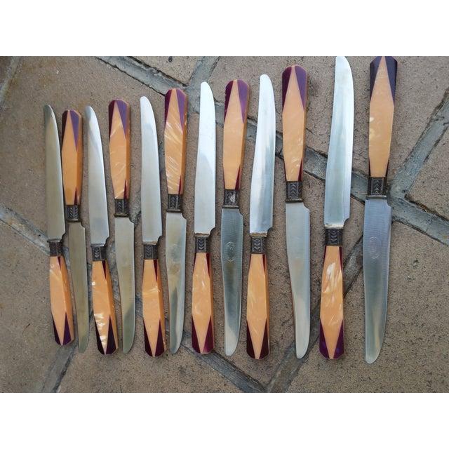 Art Deco French Knife - Set 12 - Image 4 of 6