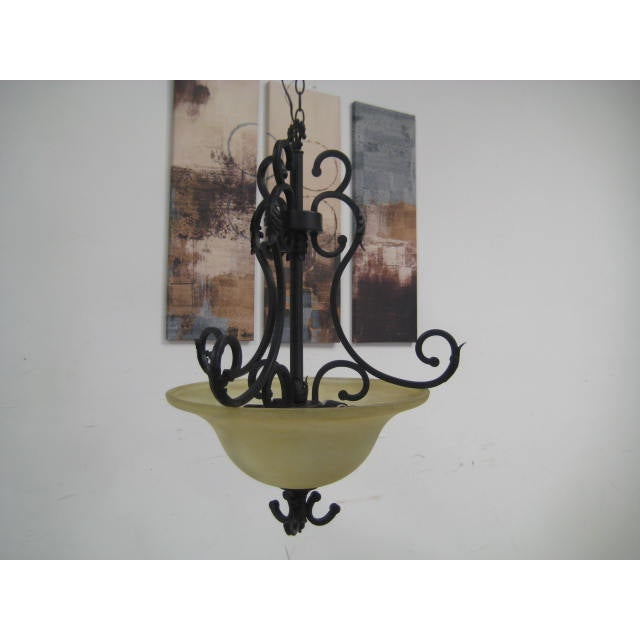 Oil Rubbed Bronze Dome Chandelier - Image 6 of 8
