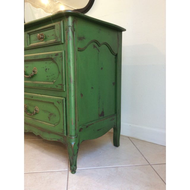 Wood 20th Century Provencal Style Credenza For Sale - Image 7 of 8