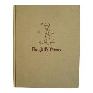 "Vintage 1943 ""The Little Prince"" Antoine De Saint Book"